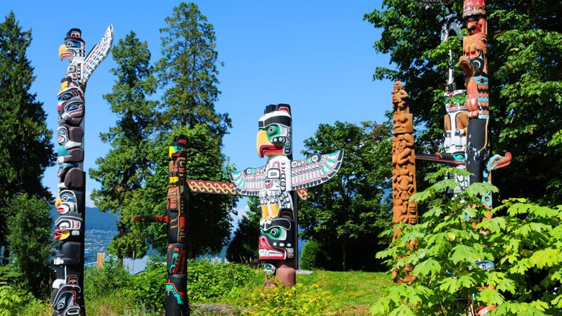 Parc Stanley Totems