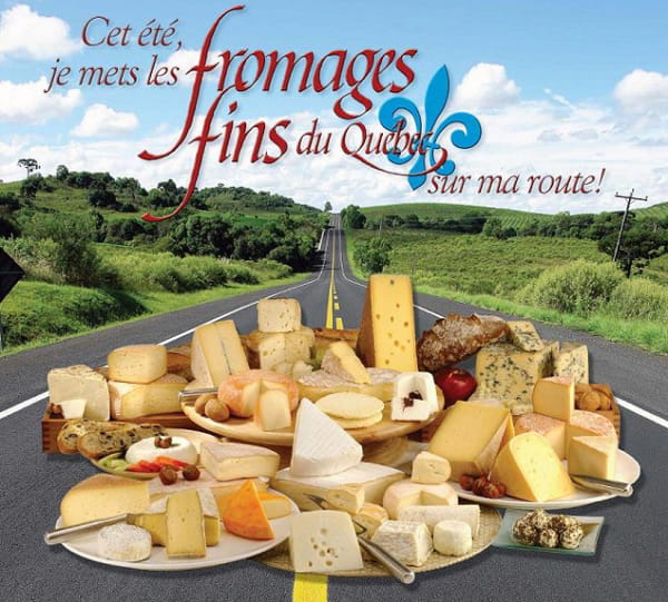 Les fromages au Canada