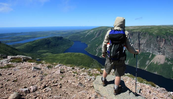 Parc Gros Morne : sentier James Callaghan