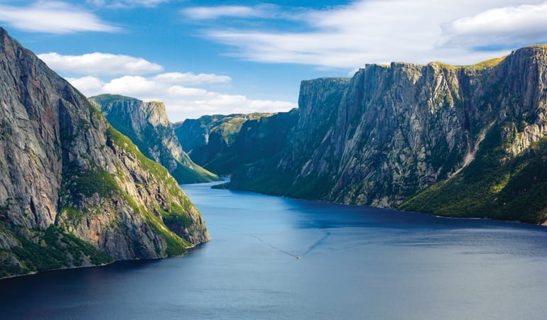 Parc du Gros Morne, Western Brook Pond