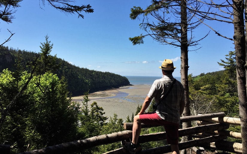 Sentier le Havre au parc national de Fundy