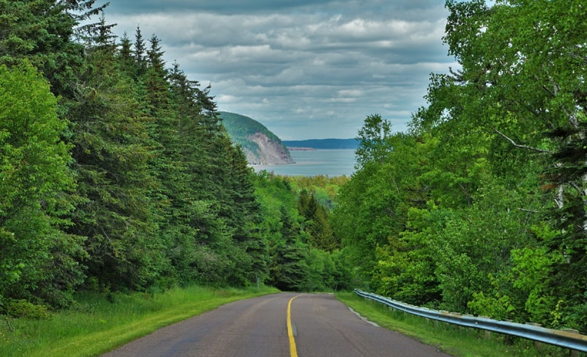 Route du parc national de Fundy