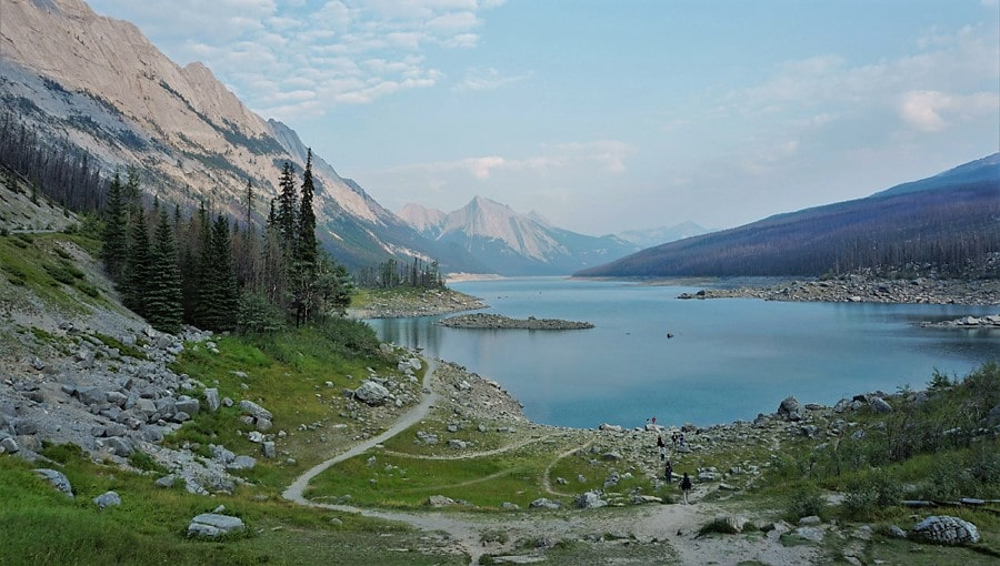 Parc national Jasper : Lac Medicine