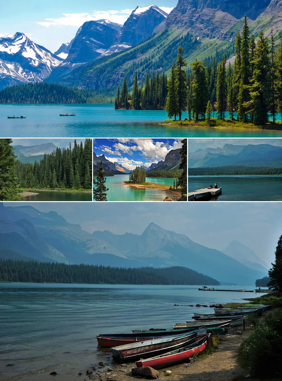 Parc national Jasper : Lac Maligne