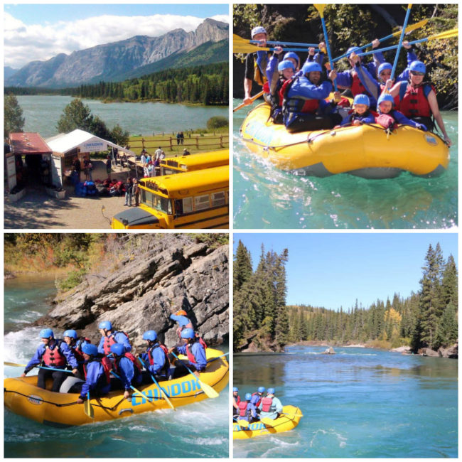 Excursion en rafting au pays de Kananaskis