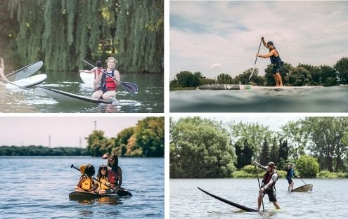 Initiation au Stand-Up Paddle (Sup) en famille